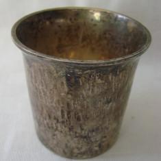 Pahar placat cu argint marcat E.P.N.S., Pahare