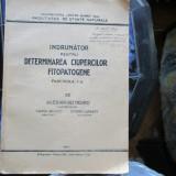 INDRUMATOR PENTRU DETERMINAREA CIUPERCILOR FITOPATOGENE