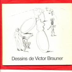 Dessins de Victor Brauner- 83 desene din Muzeul National de arta moderna-1975