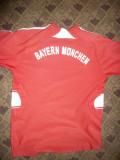 Tricou al Echipei de Fotbal  Bayern Munchen, Germania ,masuraXS, XS, Rosu