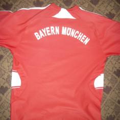 Tricou al Echipei de Fotbal Bayern Munchen, Germania, masuraXS - Tricou echipa fotbal, Culoare: Rosu