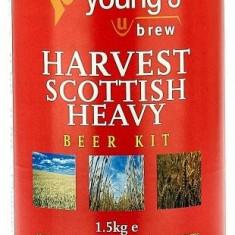 Young's Harvest Scottish Ale 40pt - kit pentru bere de casa 23 litri, Bruna