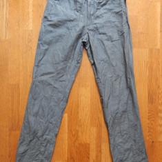 Pantaloni H&M Slim Fit; marime EUR 46 US 32R, vezi dimensiuni exacte; impecabili - Pantaloni dama, Culoare: Din imagine