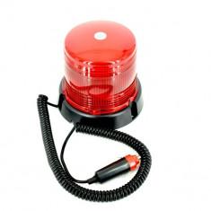 Girofar flash led PORTOCALIU 24V si magnet - Girofar Auto