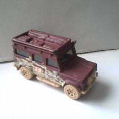 Bnk jc Matchbox - Land Rover Defender - 1997 - Macheta auto Matchbox, 1:64