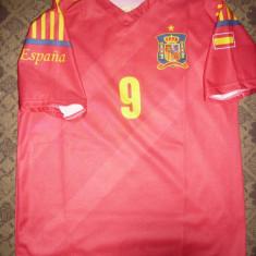 Tricou al Echipei de Fotbal a Spaniei - Jucator Torres, masura S - Tricou echipa fotbal, Marime: S, Culoare: Rosu