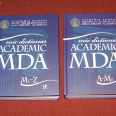 Mic Dictionar Academic (2 Vol.) - DEX