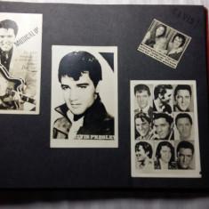ELVIS PRESLEY - VINTAGE ALBUM DE FAN ANII 70-90 - CONTINE FOTOGRAFII SI IMAGINI - Muzica Rock & Roll, Alte tipuri suport muzica