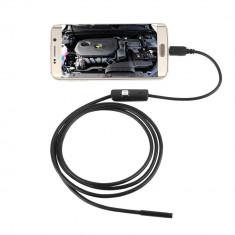 Camera Micro USB endoscop pentru Android si Pc-uri Lungime cablu 5M - USB gadgets