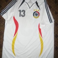 Tricou al Echipei de Fotbal a Germaniei, jucator Ballack, masuraXXXL - Tricou echipa fotbal, Culoare: Alb