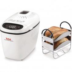 Masina de paine Home Bread Baguette PF610138, 1600 W, 1500 g, 16 programe, Alb - Aparat de Preparat Paine