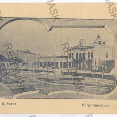 3306 - Buzau, Rm. SARAT - old postcard - unused - Carte Postala Muntenia 1904-1918, Necirculata, Printata