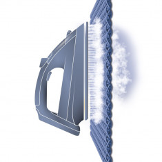 Fier De Calcat Tefal Easygliss FV3930, 2300 W, Talpa Durilium, 0.27 l, Alb/Mov