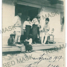 2040 - Bacau, GHIMES, ethnics - old postcard, real PHOTO - used - 1917 - Carte Postala Moldova 1904-1918, Circulata, Fotografie