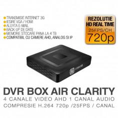 DVR AHD, ICS-BLACK BOX AIR CLARITY, 4 Canale Video, 1 Canal Audio, Rezolutie HD 720p, Vizualizare pe Internet
