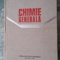 CHIMIE GENERALA - Constantin Rabega Maria Rabega - Carte Chimie