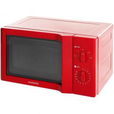 Cuptor cu microunde Daewoo KOR-6L65R, 20 l, 700 W, Roșu