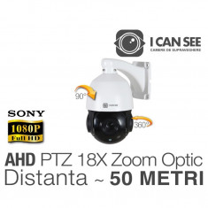 ICSSPEED-AHD2400S18X, Speed Dome PTZ, AHD, 18 X Zoom Optic, Senzor SONY, Rezolutie Full HD, Night Vision 50M