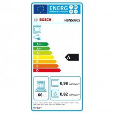 Cuptor incorporabil BOSCH HBN539E5, Electric, 67 L, Clasa A, Inox