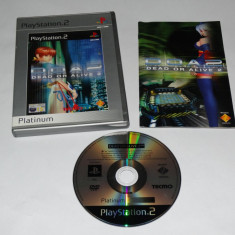 Joc Playstation 2 - PS2 - Dead or Alive 2 - Jocuri PS2 Sony, Actiune, Toate varstele, Single player