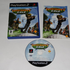 Joc Playstation 2 - PS2 - Everybody's Golf - Jocuri PS2 Sony, Actiune, Toate varstele, Single player
