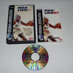Joc Sega Saturn - NBA Live 97 - Jocuri Sega, Sporturi, Toate varstele, Single player