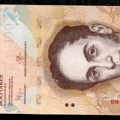 VENEZUELA 100 bolivares 2015 UNC necirculata **