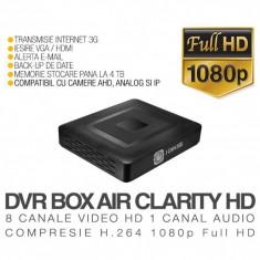 DVR AHD, ICS-BLACK BOX AIR CLARITY HD, 8 Canale Video, 1 Canal Audio, Rezolutie Full HD 1080p, Vizualizare pe Internet