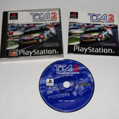 Joc Playstation 1 PS1 - Toca 2 Touring Cars Altele, Actiune, Toate varstele, Single player