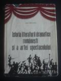 V. BRADATEANU - ISTORIA LITERATURII DRAMATICE ROMANESTI SI A ARTEI SPECTATORULUI