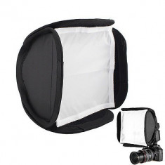 Softbox diffuser portabil pt flash blitz speedlite 9