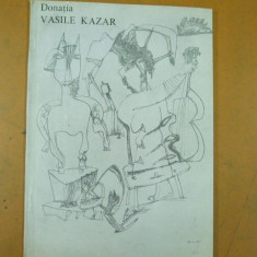 Vasile Kazar gravura desen catalog expozitie 1993 Bucuresti muzeul de arta