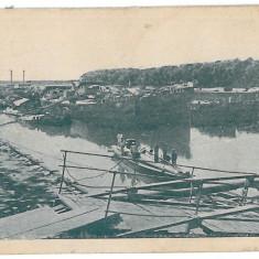 3121 - CALARASI, harbor - old postcard - used - 1916 - Carte Postala Muntenia 1904-1918, Circulata, Printata
