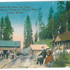1947 - Neamt, BICAZ - old postcard, CENSOR - used - 1917 - Carte Postala Moldova 1904-1918, Circulata, Printata