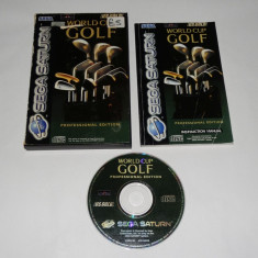 Joc Sega Saturn - World Cup Golf - Jocuri Sega, Sporturi, Toate varstele, Single player