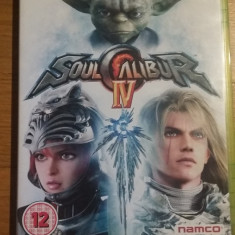 Joc XBOX 360 Soulcalibur 4 original PAL / by WADDER - Jocuri Xbox 360, Sporturi, 12+, Multiplayer