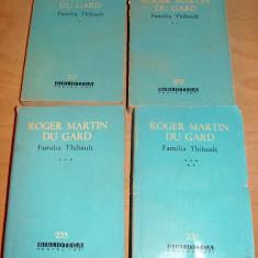 Familia Thibault - Roger Martin du Gard / 4 volume