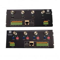 Set Transmitator - Receptor Video Balun Activ 4 Canale