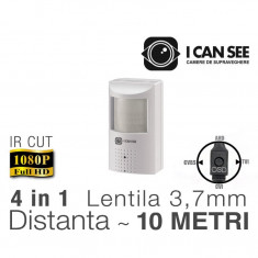 ICSPIR-UHD2400S, Camera Mini Ascunsa in Senzor PIR, Senzor SONY, Full HD ICANSEE