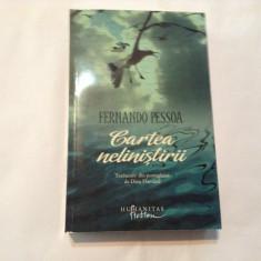 Fernando Pessoa CARTEA NELINISTIRII, RF11/4