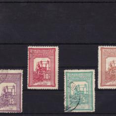 ROMANIA 1906, LP 58, TESATOAREA, SERIE STAMPILATA, LOT 1 RO - Timbre Romania