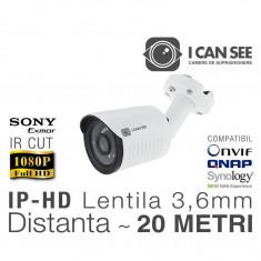 ICSS-IP2400S, Rezolutie Full HD, Lentila Fixa 3,6mm, IR CUT, Night Vision 20m, ONVIF, ICANSEE