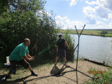 Catapulta nadire pescuit, cu carabina, distanta pana la 170m - sector 6 -