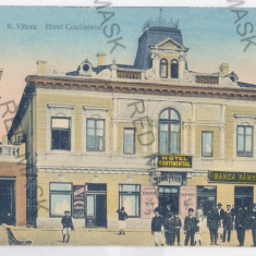 3263 - Rm. VALCEA, Hotel, Continental - old postcard - used