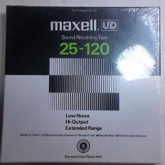 Banda profesionala sigilata noua magnetofon profesional Maxell originala japan