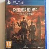 Joc PS4 Sherlock Holmes: The Devil's Daughter , nou , transport gratuit