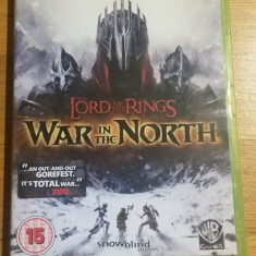 Joc XBOX 360 The lord of the rings War in the North original PAL / by WADDER - Jocuri Xbox 360, Actiune, 12+, Multiplayer