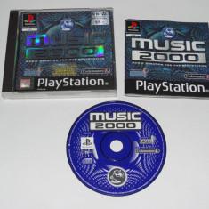 Joc Playstation 1 PS1 - Music 2000 Altele, Actiune, Toate varstele, Single player