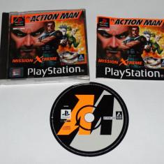 Joc Playstation 1 PS1 - Action Man Mission Xtreme Altele, Actiune, Toate varstele, Single player