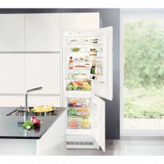 Combina frigorifica incorporabila Liebherr ICUNS 3314, 256 L, Clasa A++, H 183 cm, Alb